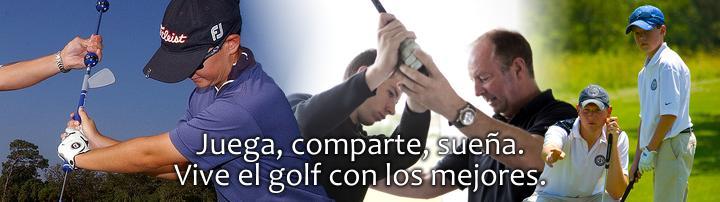 Juega, comparte, sueña. Vive el golf con los mejores